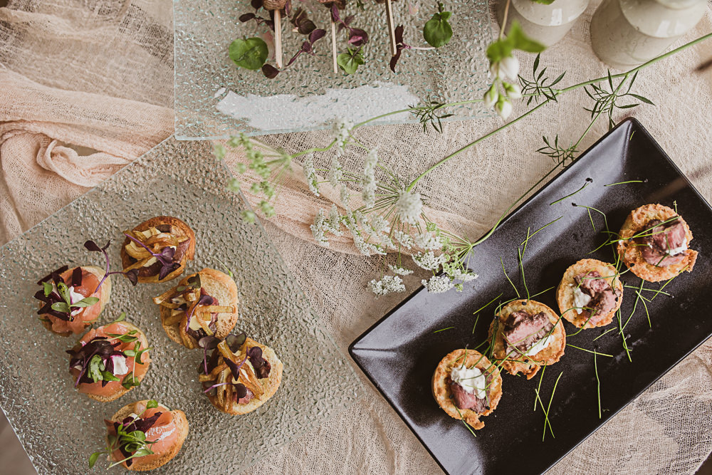Canapes Small Wedding Ideas The Springles