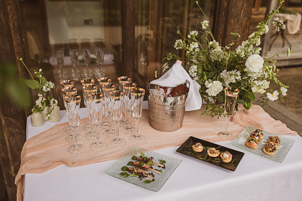 Welcome Drinks Table Small Wedding Ideas The Springles