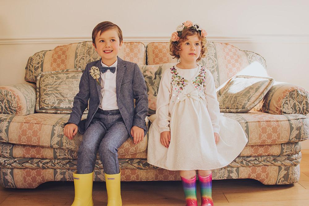 Flower Girl Page Boy Treehouse Wedding Honeydew Moments