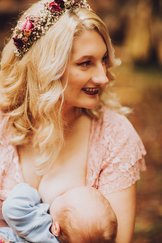 Breastfeeding Bride Treehouse Wedding Honeydew Moments