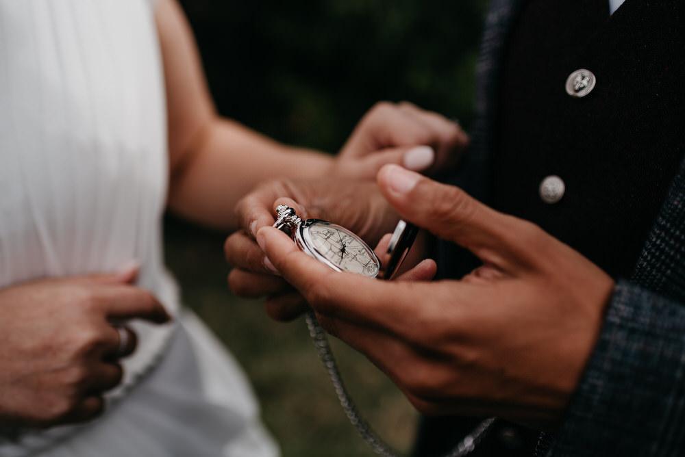 Cotswold Woodland Glamping Wedding Elaine Williams Photography