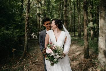 Cotswold Woodland Glamping Wedding Elaine Williams Photography