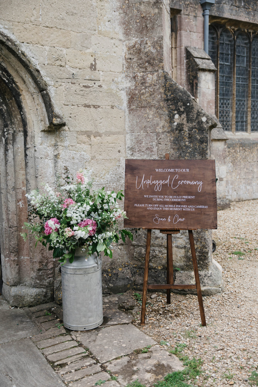 Welcome Sign Signs Signage Wooden Calligraphy Field Kitchen Wedding Siobhan Amy Photography
