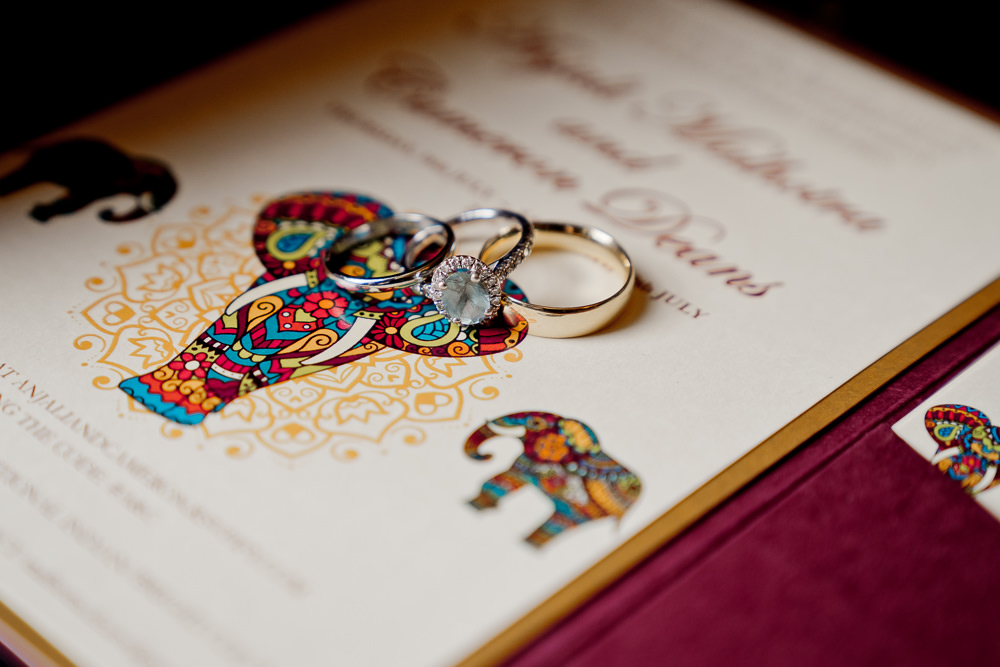 Rings Bands Indian Wedding UK Laura May Photography