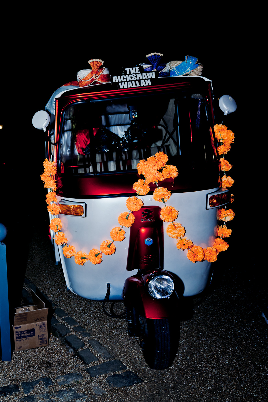Rickshaw Photo Booth Indian Wedding UK Laura May Photography