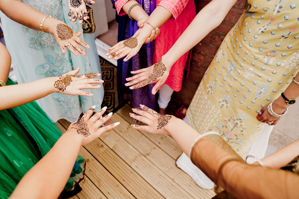 Mendhi Henna Indian Wedding UK Laura May Photography