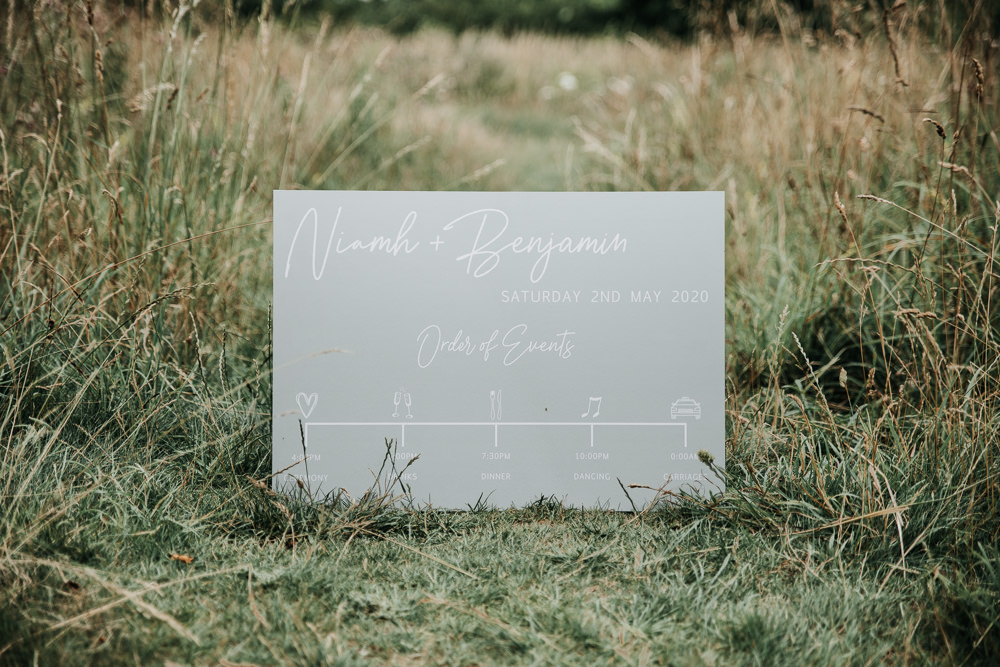 Micro Wedding Ideas Gareth J Photography Sign Signs Signage Calligraphy