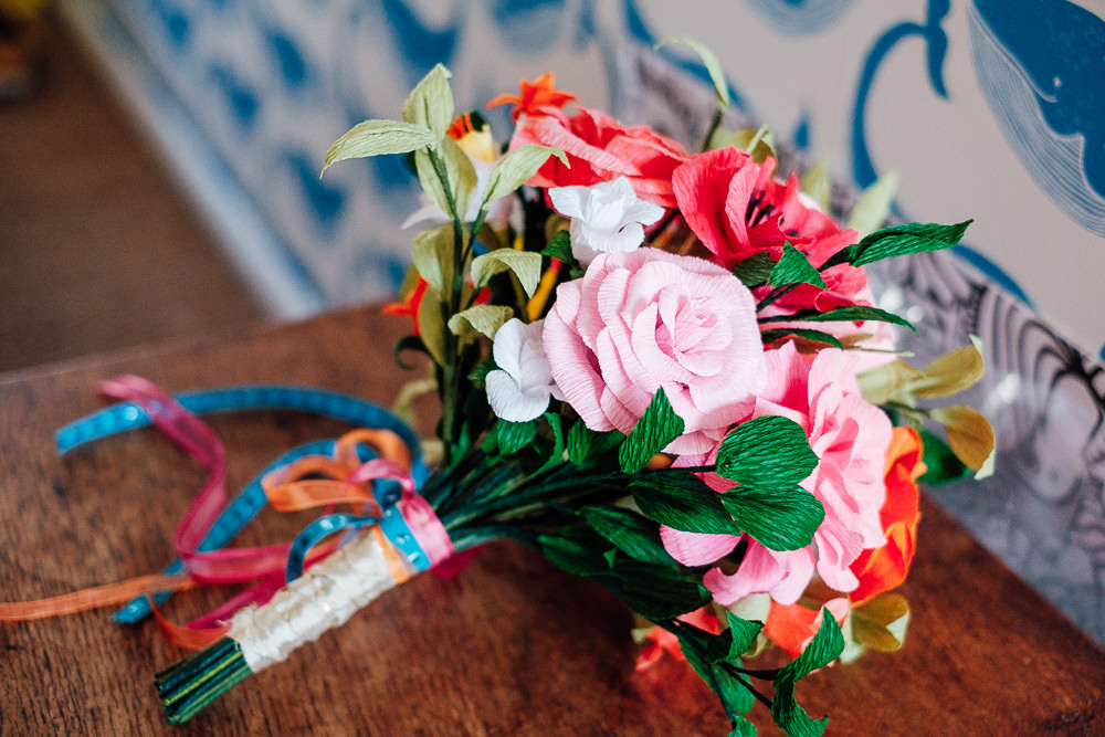 Bouquet Flowers Bride Bridal Pink Rose Pandemic Wedding Anna Pumer Photography
