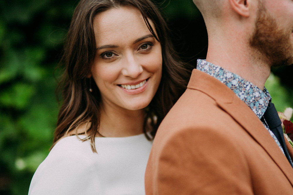 Bride Bridal Make Up Hair Pennard Hill Farm Wedding MT Studio