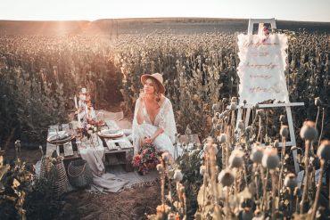 Poppy Field Wedding NT Creatives