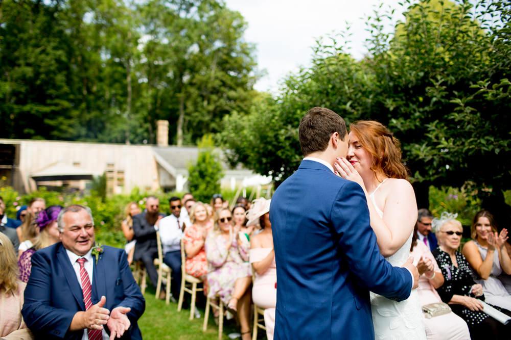Garden Ceremony Outdoor Pythouse Kitchen Garden Wedding Jessica Hayman Photography