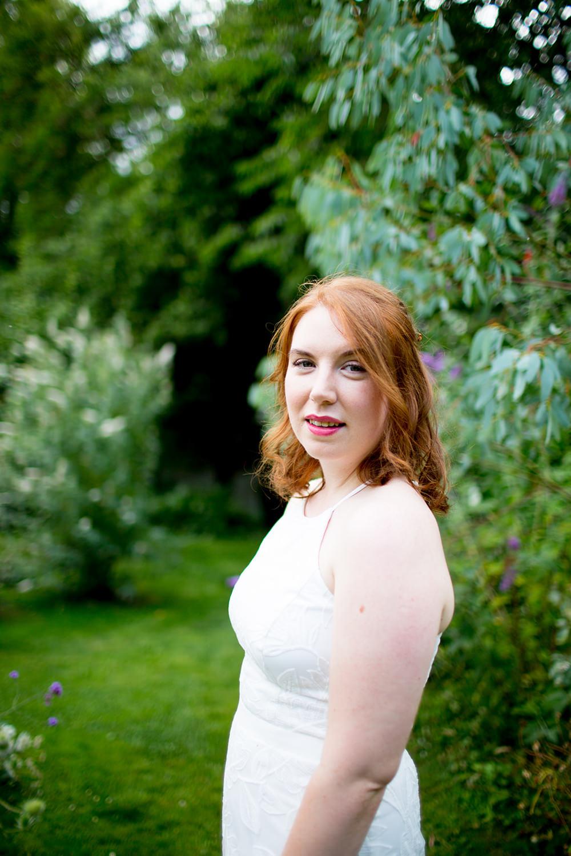 Bride Bridal Dress Gown David's Bridal Sequins Floral Straps Pythouse Kitchen Garden Wedding Jessica Hayman Photography