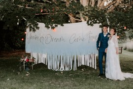 Whimsical Wedding Ideas Charlotte Lucy Photography Banner Sign Backdrop Signage Signs