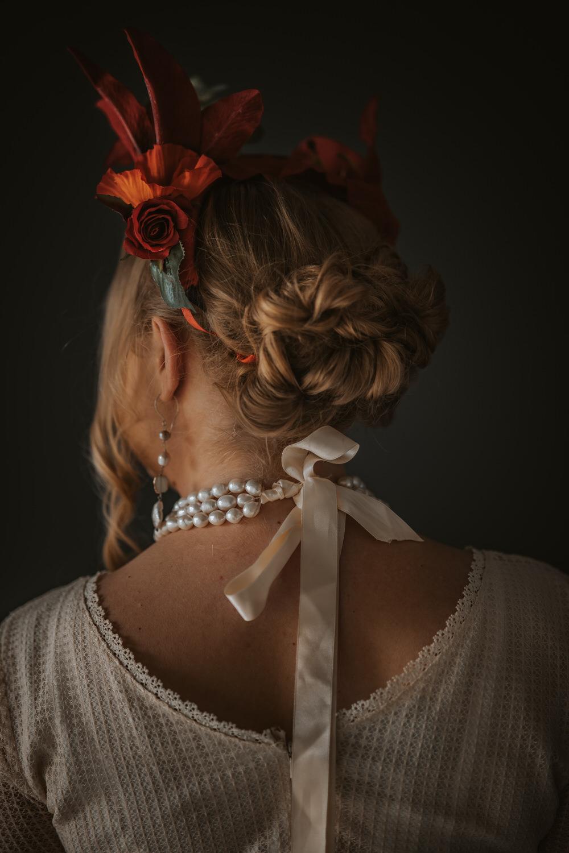 Bride Bridal Hair Style Up Do Art Wedding Ideas Tom Halliday Photography