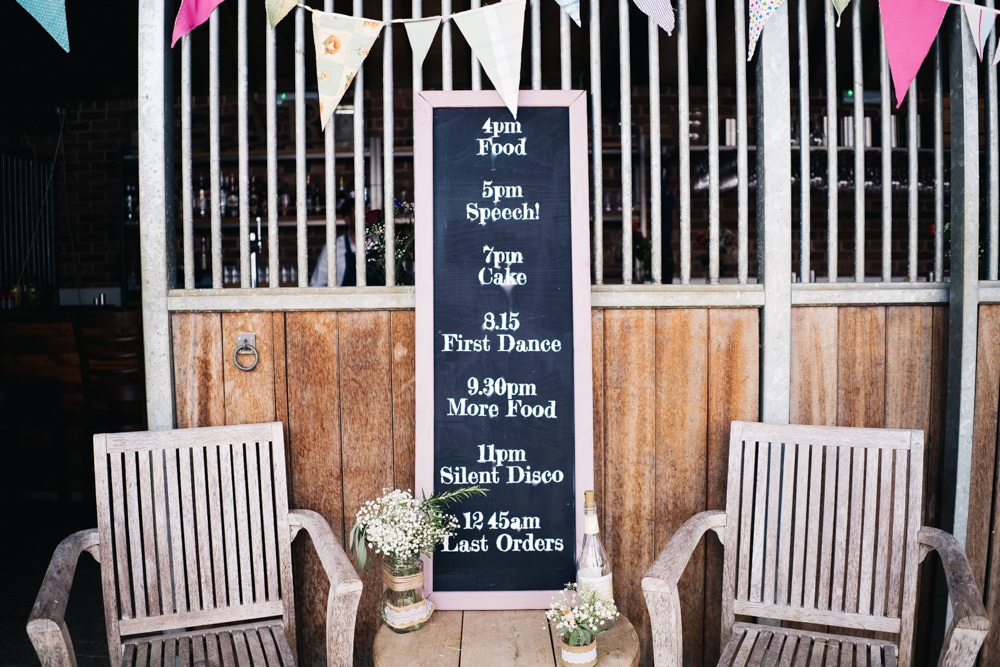 Chalk Board Sign Signs Signage Castle View Wedding Sally T Photography