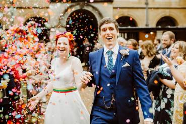 Coombe Lodge Wedding Holly Collings Photography Confetti Throw