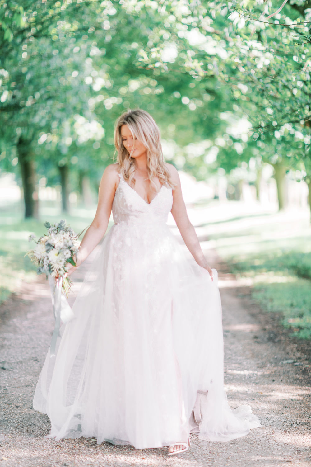 Dress Gown Bride Bridal Tulle Family Elopement Ideas Sophie May Photo