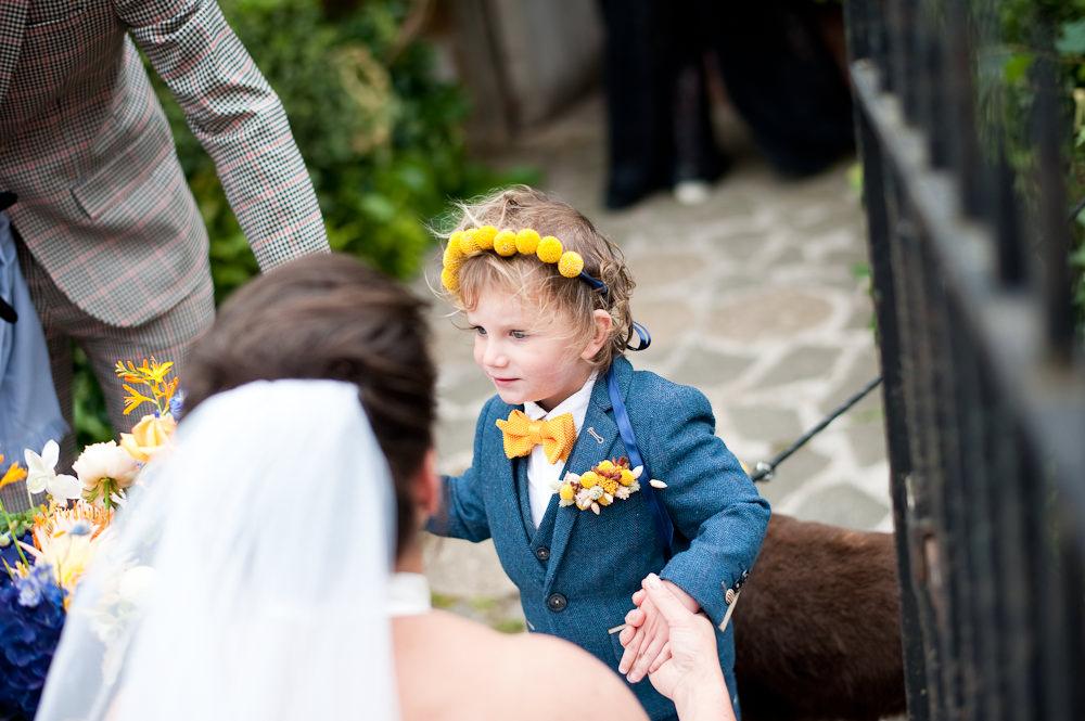 Page Boy Floral Wedding Rachael Connerton Photography