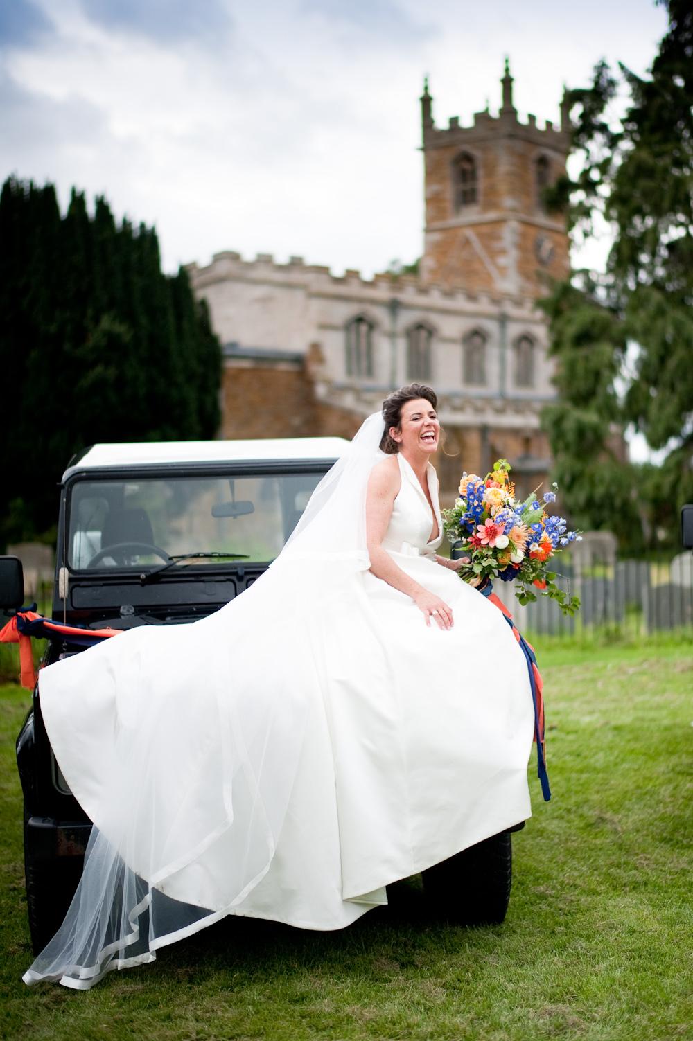 Dress Gown Bride Bridal Jesus Peiro Bow Halterneck Floral Wedding Rachael Connerton Photography
