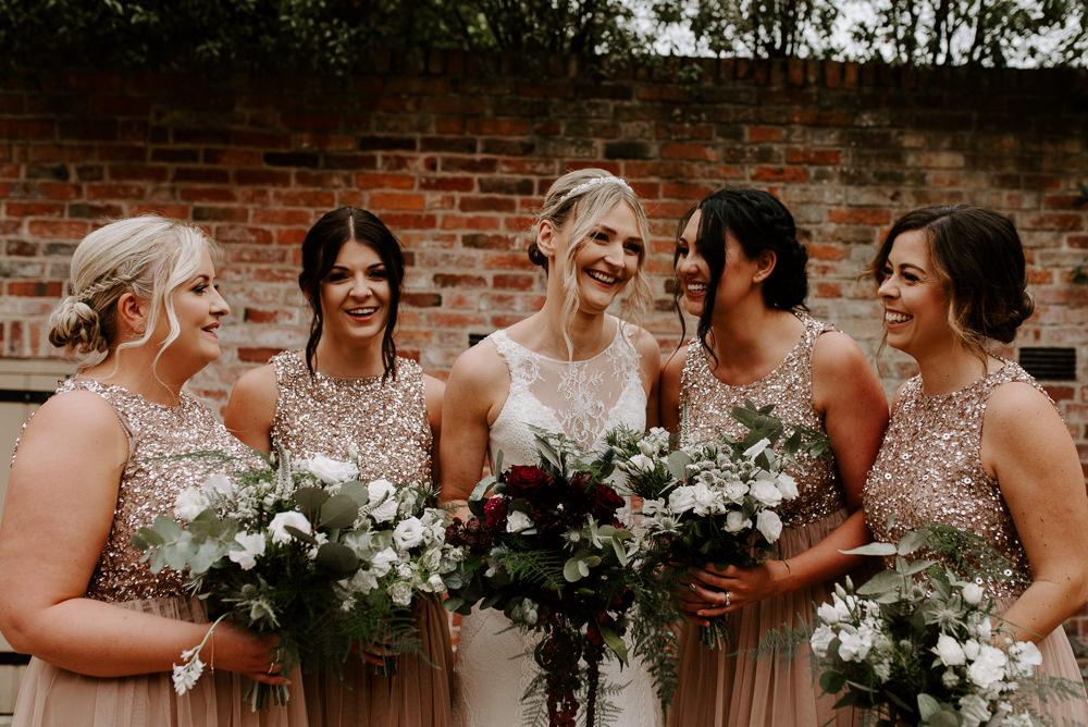 Bridesmaids Bridesmaid Dress Dresses Hazel Gap Barn Wedding The Light Painters