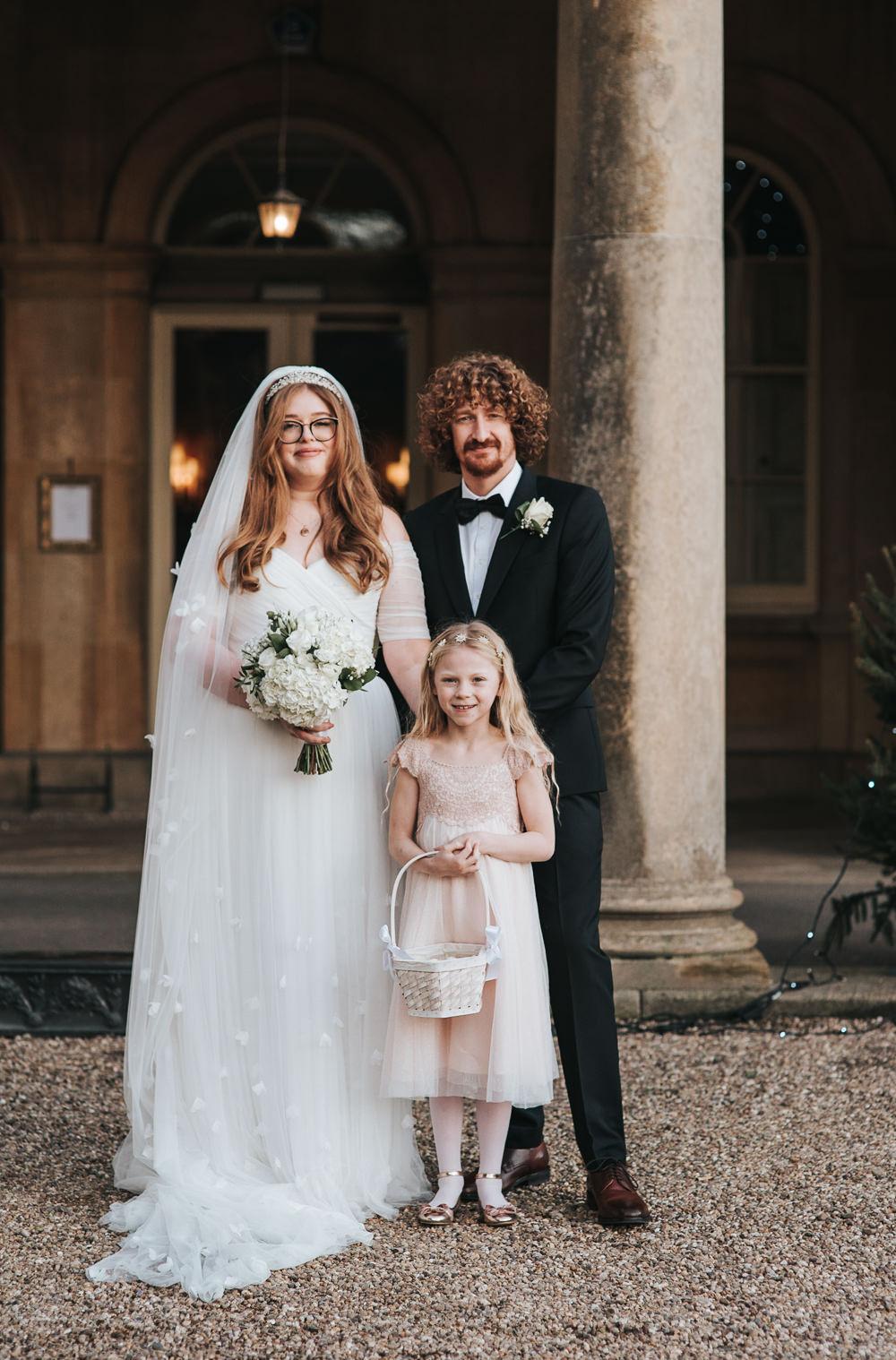 Flower Girl Petal Basket Prestwold Hall Wedding Pear & Bear Photography