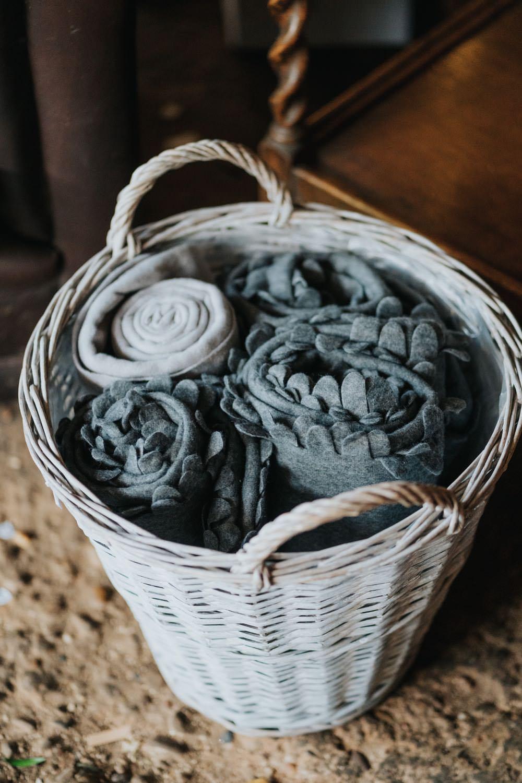 Blanket Basket The Barns East Yorkshire Wedding Bloom Weddings