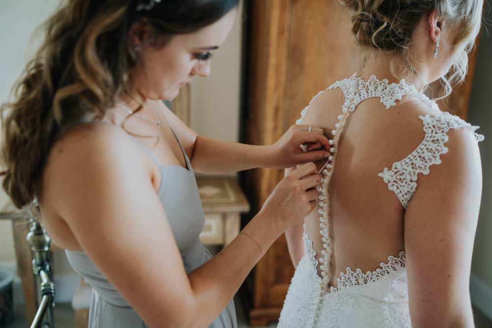 Bride Bridal Dress Gown Illusion Lace Zavana Bridal The Barns East Yorkshire Wedding Bloom Weddings