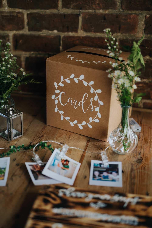 Card Gift Box The Barns East Yorkshire Wedding Bloom Weddings