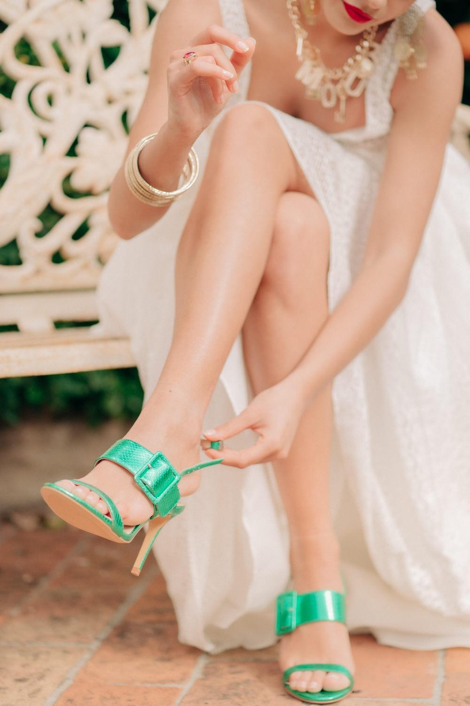Green Shoes Bride Bridal Tuscan Wedding Ideas Giuseppe Giovannelli