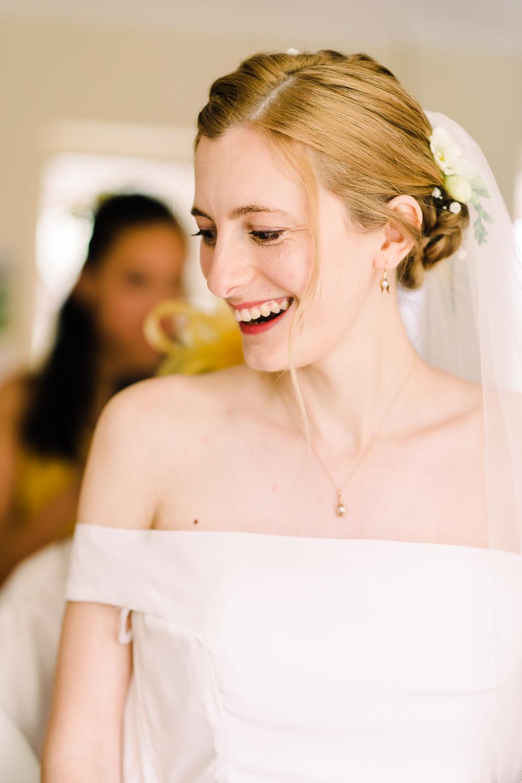 Bride Bridal Make Up Garden Wedding Reception Jade Touron Photography