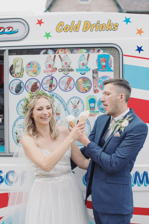 Ice Cream Hide Sheffield Wedding Sasha Lee Photography