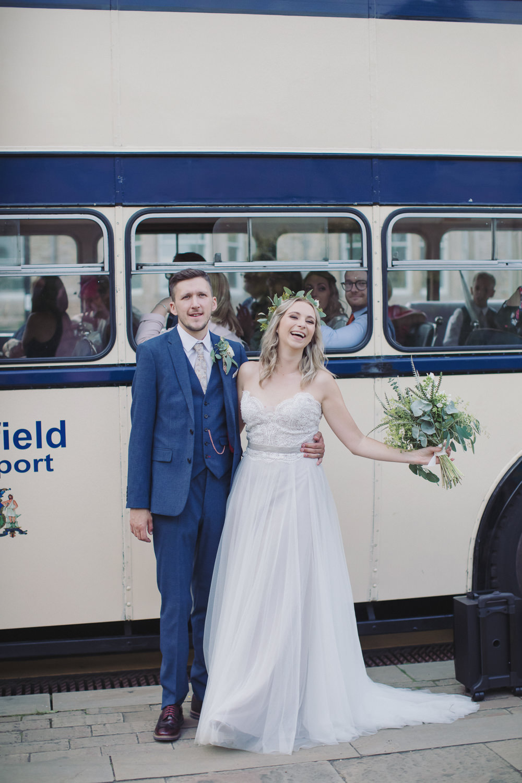 Bus Transport Hide Sheffield Wedding Sasha Lee Photography