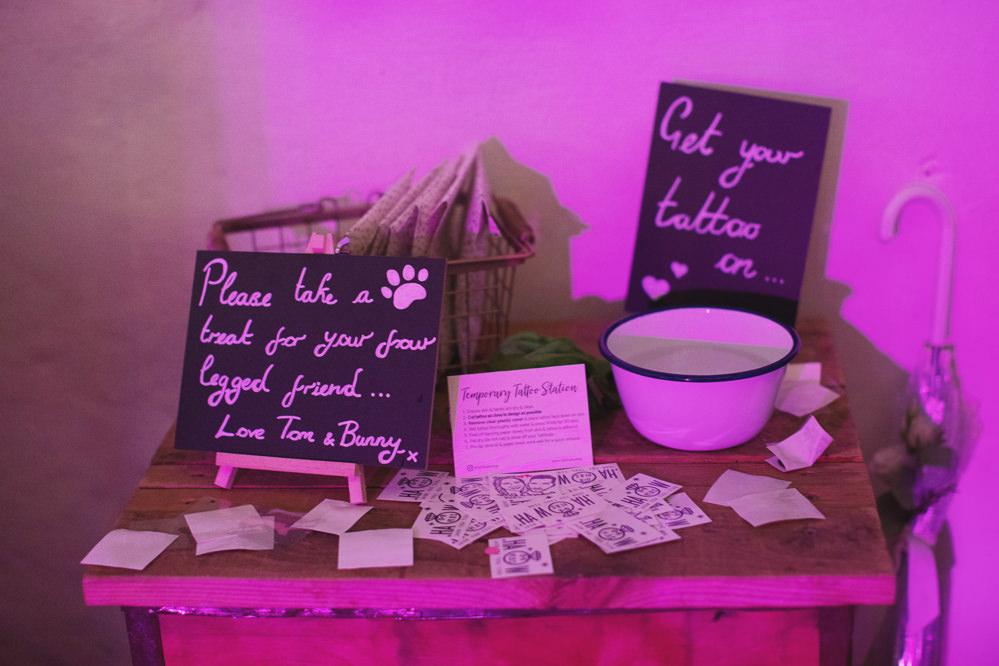 Tattoo Station Hide Sheffield Wedding Sasha Lee Photography