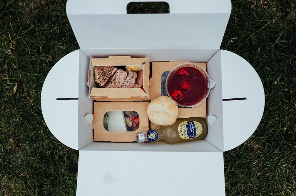 Picnic Box Food July 2020 Wedding Nathan Walker Photography