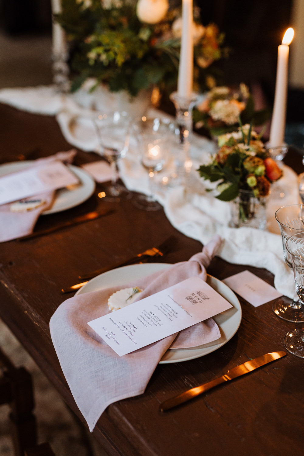 Place Setting Decor Table Natural Wedding Ideas Frame Of Love