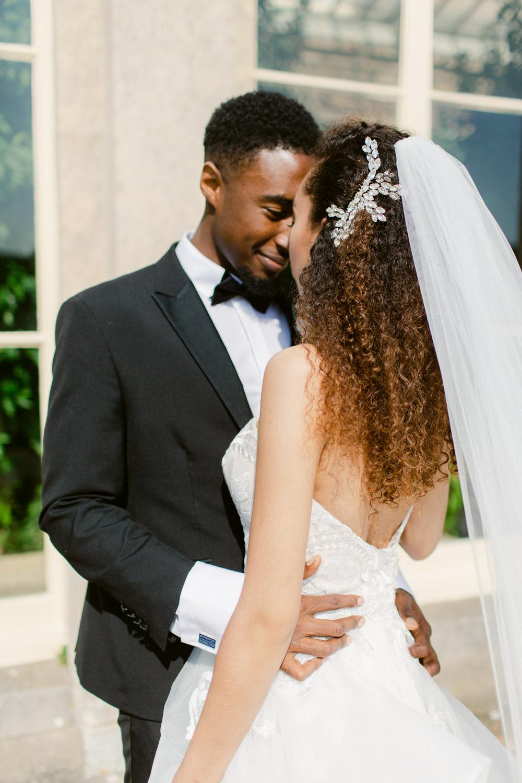 Bride Bridal Veil Stately Home Wedding Whitney Lloyd Photography