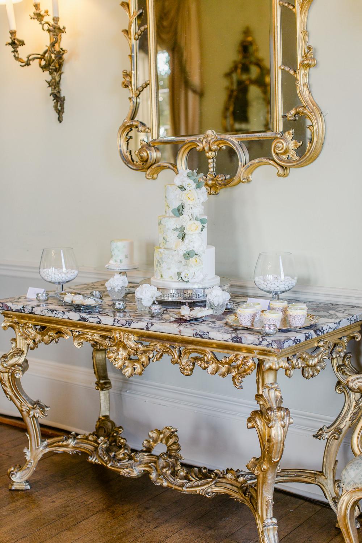 Cake Dessert Table Stately Home Wedding Whitney Lloyd Photography