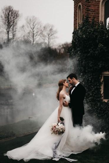 Swan Lake Wedding Ideas Salsabil Morrison Smoke Bomb Fog
