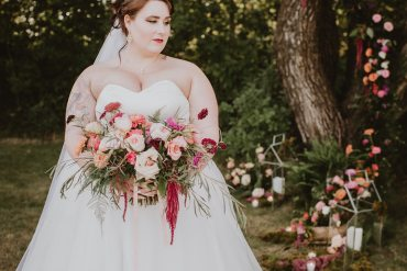Fairytale Forest Wedding Inspiration with the Prettiest Flowers