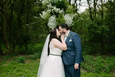 Awesome DIY Geodome Wedding on a Woodland Campsite