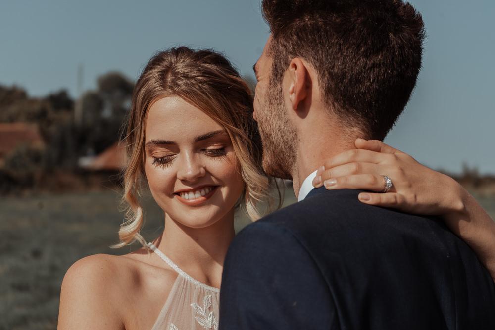 Bride Bridal Make Up Intimate Wedding Ideas Imogen Eve Photography