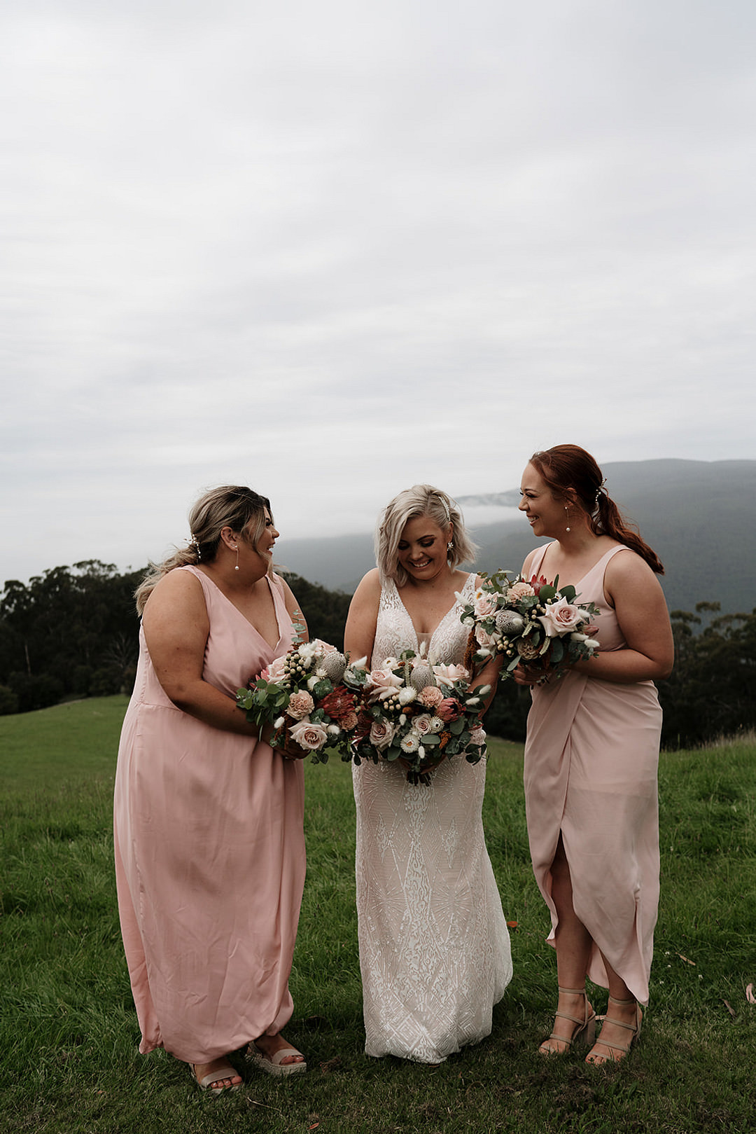 Bridesmaids Bridesmaid Dress Dresses Pink Mountain Elopement Petite Visuals