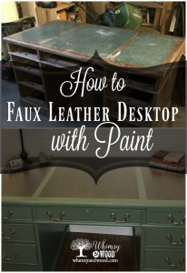 How to create a faux leather finish with paint pinterest pin