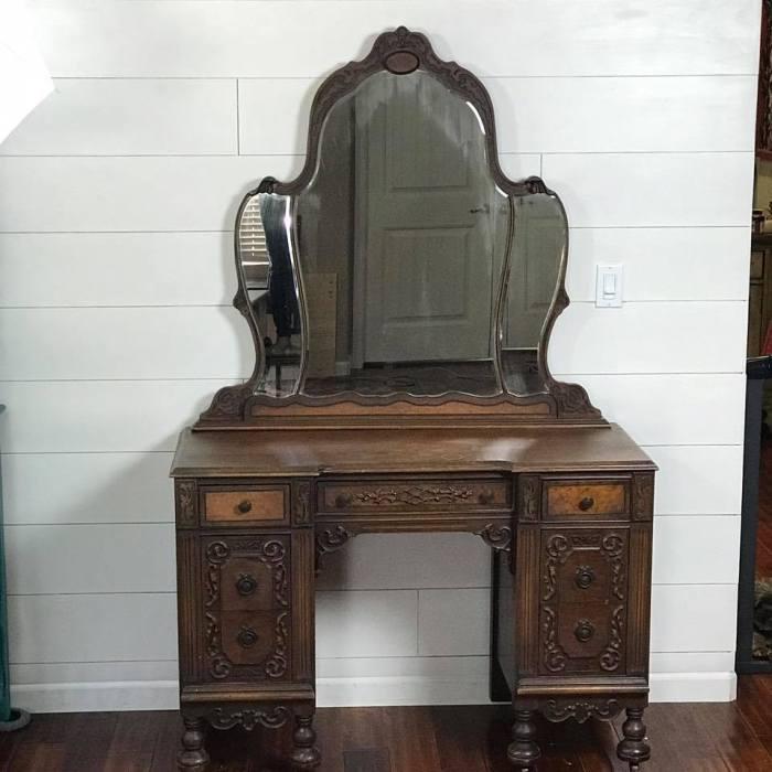 Antique Vanity Before