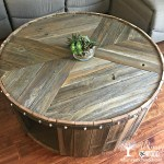 How To Make This Diy Reclaimed Wood Coffee Table Whimsy And Wood