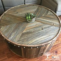 How to Make This DIY Reclaimed Wood Coffee Table - Whimsy ...