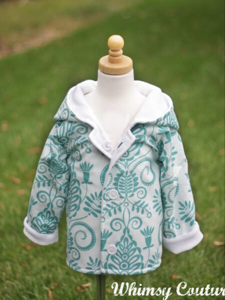 Hooded Jacket Pattern  Whimsy Couture Sewing Patterns