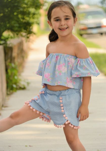 Off Shoulder Top Dress Pattern  Whimsy Couture Sewing