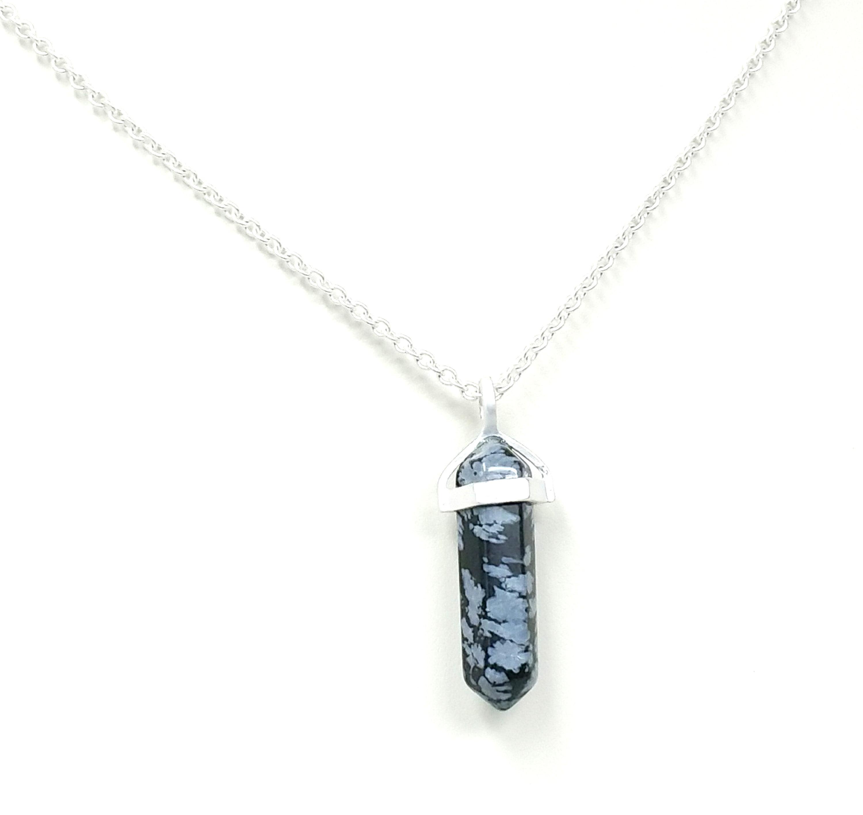 Quartz Crystal Charm Necklace