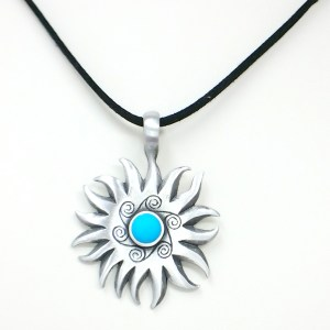 Sun Swirl Necklace